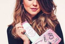 Zoella beauty products / Zoella different ranges such as Christmas range, tutti fruity range and her original range.