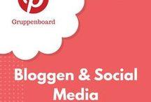 >>Bloggen & Social Media<< / Dies ist ein Gruppenboard für Bloggen & Social Media. Wer mitmachen will, sollte mir und diesem Board folgen und mir eine PN über Pinterest senden.