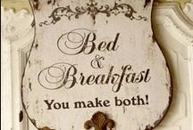 Bed & Breakfast Ideas
