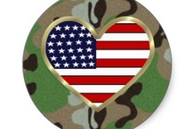 Military and Patriotic / Military Support Our Troops and our military families. Celebrate patriotic USA July 4th and everyday.