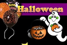 Halloween / Halloween ghosts and pumpkins kick off the Happy Holiday season.  Trick or Treat bags, spooky haunted houses and crazy witches are just part of the halloween fun.