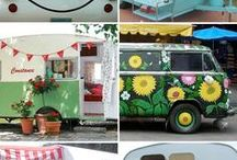 Gypsy Caravans / Wouldn't you love to own one of these and travel around the country?