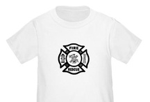 Firefighter Kids and Family / Firefighter kids and their families are part of the fire department pride.  Every firefighting family has a future firefighter.