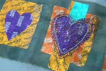 Textile recycling crafts