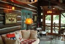 Cottage / Decorating the cottage