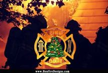 Firefighter Holidays / Firefighter holidays filled with flames, fire dept t-shirts, firefighter Christmas Stockings and holiday gifts for your favorite firefighters.