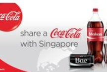 Share A Coke / Worldwide Share a Coke Celebrations - What named bottle do you love? / by Coca-Cola Collectibles