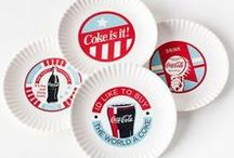 Serving Food with Coke / Check this board out for products dedicated to preparing, cooking, and serving up food - all Coke themed.