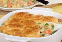 Casseroles Recipes We Like / Mmmm, there's nothing like checking out all of the amazing casserole recipes on Pinterest! Once you've seen our amazing collection of ideas for easy casserole recipes, try these great new recipes from the community! / by AllFreeCasseroleRecipes