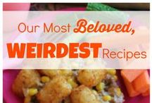 "Weird Food / We say ""weird food"" lovingly. Make some really interesting dishes with these interesting recipes. Some of our easy casserole recipes made the cut. / by AllFreeCasseroleRecipes"