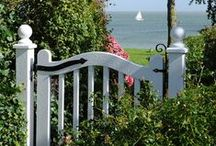 FENCES & gates / Let me in...don't keep me out! / by Jackie Peters