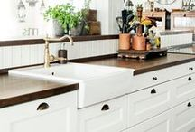 Home Kitchen/Great Room / Homey places to live, cook, and eat.