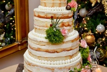 "Wedding Cake, Dessert Style / Relaxed and informal dessert styled wedding cakes, from the elegance of molded chocolate & cascading fruit, from Profiteroles & Croquembouche to the intimacy and fun of the ""naked"" cake ... lots of inspiration!"