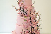 Wedding Cake, Cherry Blossom