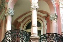 .:Architecture: Porches Porticos Verandas Balconies:. / Step outside!