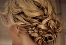 Hair / Hair updos, styles, diy  / by Kelly Kerr