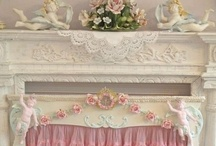 .:Home: Mantels:. / Fireplace mantels - with a touch of bling