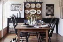 Home- DINING ROOM / by Jess Spencer