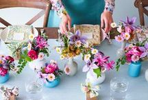 Beautiful Table Settings / table settings, place setting, place cards, place tag, plates, tablewear