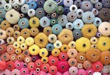 Yarn P*rn / The allure of twist itself, devoid of stitch.  / by Clara Parkes