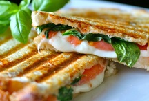 Panini and sandwich / by Leslie Ambrosia