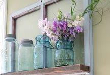 .:Mason Jars:. / Crafting with Mason Jars. So versatile!