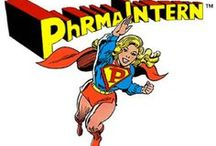 Pharma Intern / Yes, it's PhRMA Intern! Strange visitor from an Ivy League school who came to PhRMA with powers and ability far beyond those of Ken Johnson. PhRMA Intern! Who can change the course of mighty news stories, bend the truth at will, and who disguised as Emily Jameson, mild-mannered intern for a great pharmaceutical trade association, fights a never ending battle for believability, justice for pharmaceutical companies, and the PhRMA way!