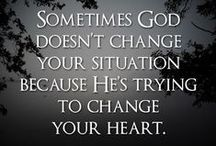 Faith Walk / Walking by Faith everyday! Not perfectly but in His grace!