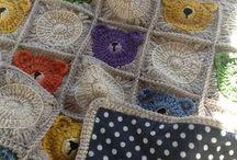 CROCHET-afghans/blankets / by Jackie Peters