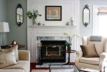Home Decor and Living Room Ideas / Interior design and living room spaces