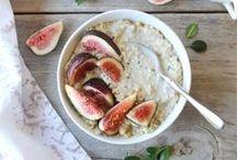 Oatmeal & Porridge / breakfast, healthy breakfast, gluten free breakfast, oats, porridge,  brunch recipes, breakfast recipes, oat meal, pudding, sugar free breakfast, gluten free breakfast, baked oatmeal
