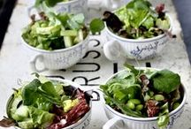 Salads / salad, gluten free, vegetables, kale, salads, green bowls, bowls of greens, eat your greens, greens