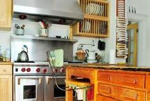 old fashion style kitchens~