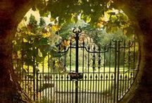 enter through the garden gate~ / by Patty Sweeney-Shevchik