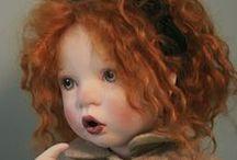 Art Dolls and figures / dolls, figural sculpture, mixed media