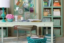 Craft Room/Home Office / by Robin Jones Warzywak