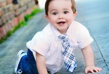 ¡Qué bebé más chic!