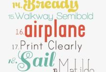 Fonts&Design