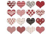 hearts / cœurs : freebies & DIY /