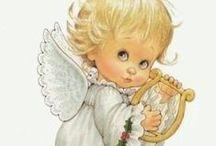 """angels / anges : freebies & DIY / des images, des freebies, plus quelques dessins vus ici ou là et simplement jolis... et puis... cela peut aussi servir l'inspiration... (les images présentées ici sont libres de droits à ma connaissance, mais si une image vous appartenant est là """"à tort"""", signalez-le moi et je la retirerai)"""