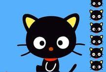 Hello Kitties ! - freebies & DIY / ces freebies ont tous pour sujet des chats célèbres : pas seulement Hello Kitty, mais aussi Garfield, Jacob, le Chat Potté et bien d'autres !... Bonjour, les chats !...
