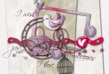 a little bird told me... freebies / les p'tits z'oiseaux en tous genres - mais aussi leurs cages et autres nichoirs - apparaissent sur de plus en plus de freebies... et cela mérite bien un board rien que pour eux... / by Isabelle de Beukelaer
