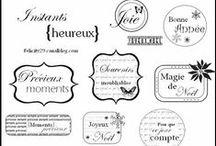 en français, s'il vous plaît... / des freebies dans la langue de Molière - et, accessoirement, la mienne !... / by Isabelle de Beukelaer