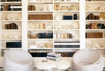BEAUTIFUL BOOKSHELVES / Beautifully balanced bookshelves are an art - here are some that inspire me.