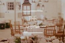 the reception. / Reception ideas for your gorgeous wedding! / by Borrowed & Blue Occasions