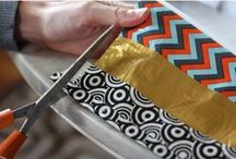 Sophie's Picks: Duct Tape Crafts / A collection of the wonderful crafts and projects you can make with duct tape gathered by Sophie's World. With all of the wonderful tape patterns these days the ideas are endless! / by Sophie's World