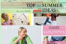 Sophie's Picks: Top Summer Game Ideas / Let the good times roll as you explore my top 30 game picks for this summer. Visit Sophie-world.com or SophiesWorldVideo on You Tube to catch up on some fantastically great game ideas. / by Sophie's World