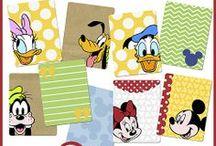Disney : scrapbooking & cards / Disney et le scrap sont des choses qui vont très bien ensemble : de nombreuses pages sont consacrées aux visites des parcs Disney, mais aussi aux héros favoris des uns et des autres, aux après-midi vidéo et autres fêtes à thème !... ici seront postés des freebies et des idées de création - pages, cartes et autres - ayant pour thèmes Mickey et ses amis !