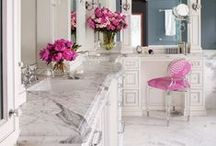 FUCHSIA INSPIRED / Did you know shades of pink can lift your mood? We believed it before we read it! Here are some happy hued spaces sure to make you smile!