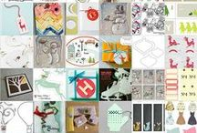 greeting cards, tags / hand crafted cards, tags, etc.